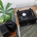 SLT-5080PRO 블랙 블루투스 LP턴테이블 스피커세트