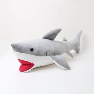 100cm 상어인형 상어쿠션 동물쿠션 캐릭터 큰인형