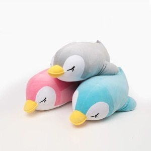 70cm 슬리핑 펭귄 쿠션 쿠션인형 동물쿠션 동물인형