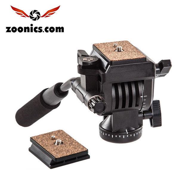 ZNS-199 유압식 헤드 삼각대 카메라 사진 퀵릴리스