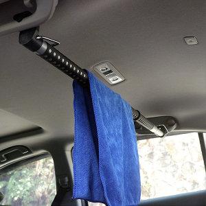차량용 봉타입 옷걸이 뒷좌석 행거 다용도 옷보관