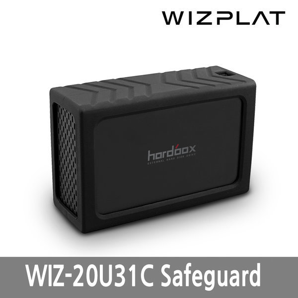 WIZ-20U31C Safeguard USB3.1 C타입 2Bay 외장하드