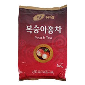 유안 복숭아홍차 900g 12개(1박스) 자판기용 아이스티