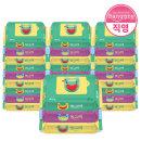 방그레 베이직 휴대용 물티슈 20매 30팩 아기 물티슈