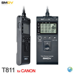 SMDV 인터벌릴리즈 T811 캐논 5D MARK4 5D MARK3 5DsR