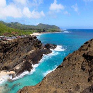 하와이 반자유 1급호텔 오아후섬 일주 자유일정 6일