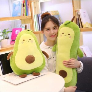 귀여운 모찌 아보카도 인형 쿠션 바디필로우 3종세트