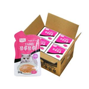 쮸루쮸루 도미 1박스(30g 12개) x4개 고양이간식