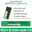 DDR4 8GB로 변경 C340-14API R3 전용
