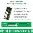 DDR4 16GB로 변경 C340-14API R3 전용