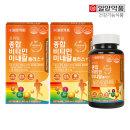 일양약품 프라임 종합비타민 미네랄플러스 180정2박스