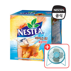 네슬레 네스티 복숭아 스틱 70입 + 탁상용 선풍기