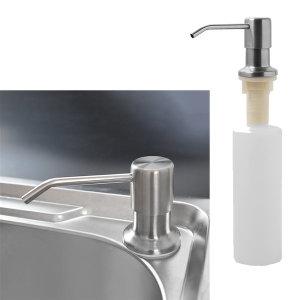 싱크대 주방세제 디스펜서 물비누통 펌프 손세정제통