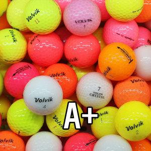 볼빅 컬러 피스 혼합 A+ 20알 로스트볼/ 골프공