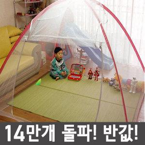 1초완성 원터치모기장 유아모기장 캠핑 방충망 텐트