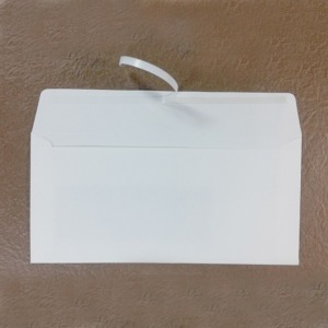 창문형 양면테이프편지봉투 100매 종이서류무지백봉투