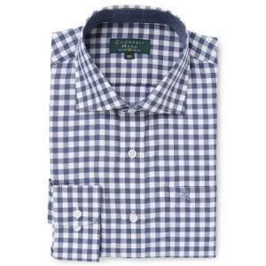 (현대백화점) 카운테스마라  CDCR3C6308B0 긴소매 캐쥬얼 체크스타일 레귤러핏 셔츠
