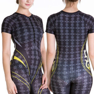 (현대Hmall)Mc.DYNAMICS 입체칼라전사 5부 반팔 여성수영복 최신디자인 첨단 대한민국제작