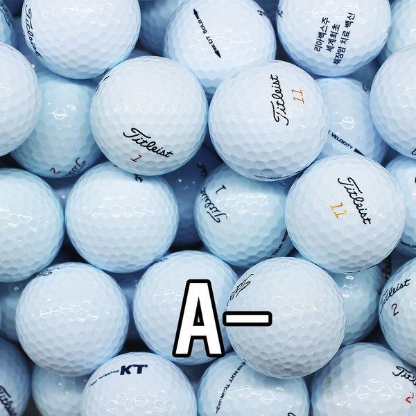 타이틀리스트 2피스 화이트 A- 10알 골프공/로스트볼