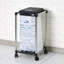 종량제 휴지통 20L 사각 분리수거함 쓰레기통