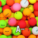 볼빅 비비드 혼합 A- 10알 골프공/로스트볼