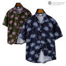 남자 하와이안 바캉스룩 반팔 셔츠 / 남자 반팔셔츠
