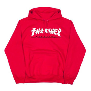 (THRASHER) Godzilla Hood - Red
