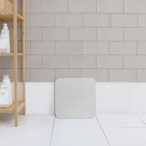 [무아스] 무아스 규조토 드라이 욕실매트 S 사이즈 Gray