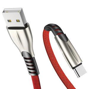 3in1 5핀 아이폰 8핀 C타입 USB 릴 고속충전케이블