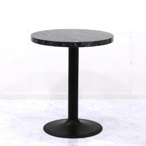(현대Hmall)LPM 마블무늬 600 A형다리 2인 테이블 원형
