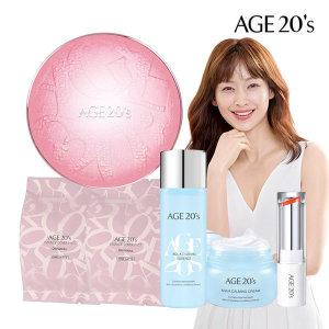 Age20S 팩트 케이스+리필2+에센스+크림+립글로우(21호)