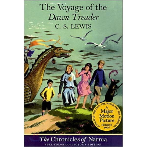 The Chronicles of Narnia Book 5 : Voyage of the Dawn Treader  C  S  Lewis Pauline Baynes