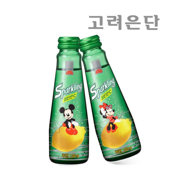 고려은단 스파클링 비타민C 140ml 10병 미키미니에디션