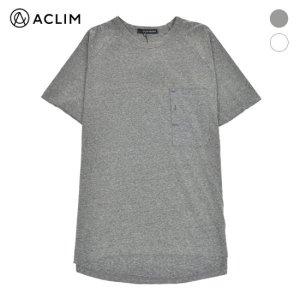 아클림 아클림_ 남성)포켓 디테일 반팔 티셔츠_AF6MTS52