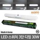 LED트윈등 30W 스위치 3단 밝기조절 LED등기구 LED등
