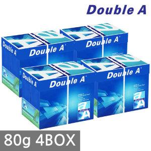 (현대Hmall)더블에이 A4 복사용지(A4용지) 80g 2500매 4BOX