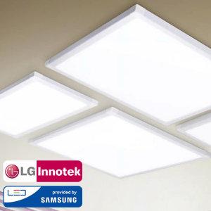 LED엣지조명 평판등 면조명 슬림등기구 LG이노텍칩 KS