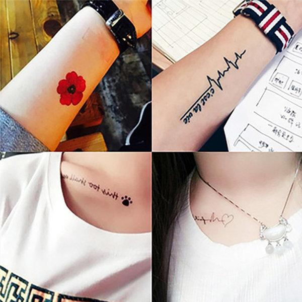 5+2타투스티커/헤나/레터링/문신/tattoo/컬러패션타투