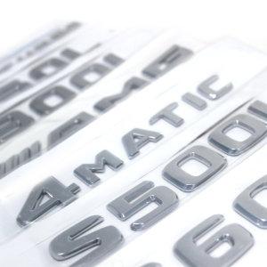 벤츠 레터링 엠블럼 전차종 AMG 4MATIC 외 A C E S G