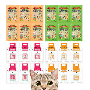 두부랑캣츠 워피 바른 고양이 두부모래 6개 (1박스)