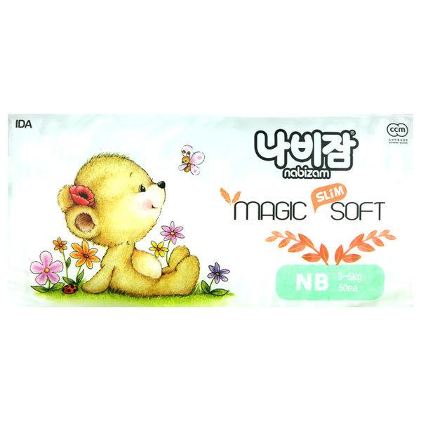 나비잠 매직소프트 밴드 신생아 공용 50매 1팩