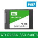 WD Green SSD 240GB 2.5인치 AS 3년 대원정품 YJ