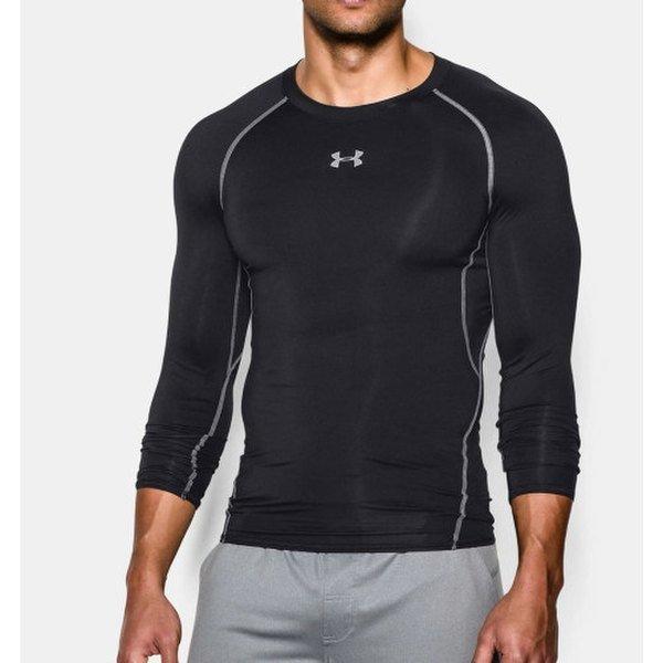 (신세계센텀점) 언더아머 남성 UA HeatGear  아머 긴팔 컴프레션 셔츠 1257471 001