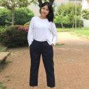남자밴딩팬츠 여자밴딩팬츠 고무줄바지 VT701-NAVY4