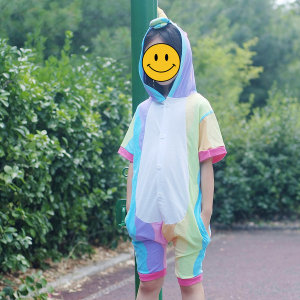 반팔잠옷 캐릭터동물잠옷 여름잠옷 반티 플란넬 유니콘