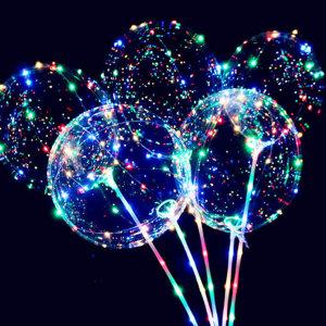 LED 풍선 생일 파티용품 이벤트 프로포즈 용품 야광