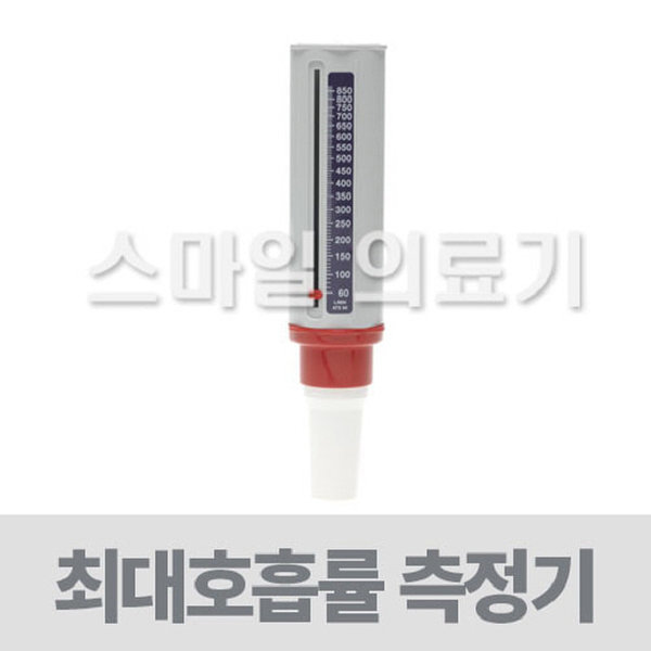 피크플로우미터 폐기능검사기(성인용 영국산)