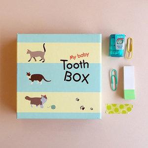 마이 베이비 투스 박스_유치보관함 ver.2 고양이