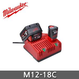 밀워키 M12-18C  멀티 충전기 12-18V