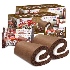 런던롤 초코케이크 2박스(40봉)